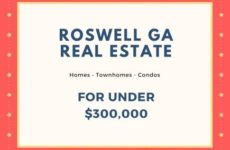 Roswell GA Real Estate Market